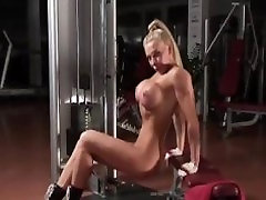 Hot flashing her dirty pantie3 titted fitness blond part2