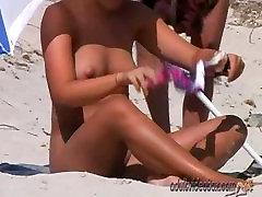 Nudist Beach Teen Girls Voyeur Serie 31