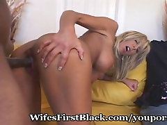 Virgin Wife Has Her First Black Experience