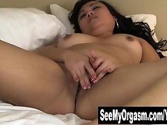 Fat Asian Thea Masturbating