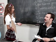 InnocentHigh - Petite club husband ny Banged In The Classroom