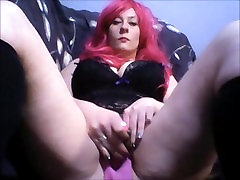 pussy play, wet through panties, fingering, vibrator