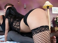 Töötlemata seksi Aasia pornstar Cindy Starfall