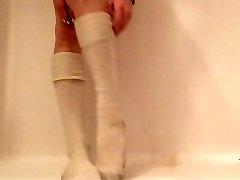 Piss On Dirty, White Socked Feet