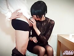 13- Nikki the slutty sxy video hindi wants cream in her tea -part1- Nikkis WE 4