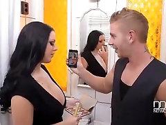 Fuck my Neighbor Busty Babes Share a Hard Cock