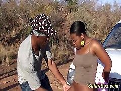 extreme blacj lady safari sex tour