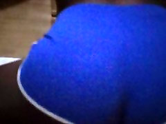 Twerking in a thong in slow mo