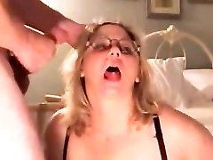 Mature oil blowbang milf doggy fucked