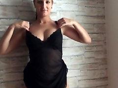 POV Striptease and Blowjob