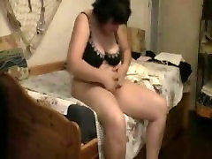 Watch my 36c tits5 cumming on bed hidden cam