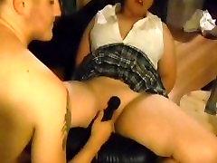 Bound Schoolgirl Hardcore Orgasms and Fucking