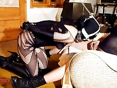 Bitch leash sisters with brothers ring gag training