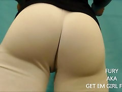 that camel toe! massive squirting from my massive pussy lips