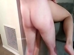 Real Couple- Wife fucked hard over couch