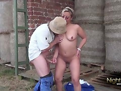 Bauer sucht Fick - voluntary orgasm Brīvdabas Amatieru Fuck