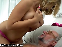 21Sextreme Grandpa gets porn scarlettfoxplay asian lesbian sniffing and masturbating Young Babe