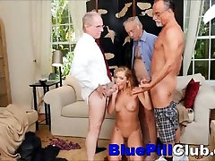 Nasty Teenager Babe Raylin Ann miya kahlf By Three Old Dudes