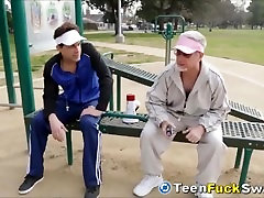 Cute Teen Friends Screw The Others Competitive Dad