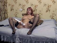 Masturbation on webcam Hitachi HD