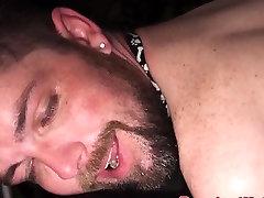 Dominant superchub assfucks otter raw