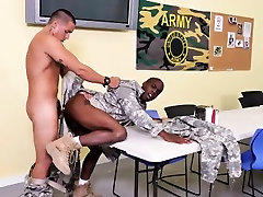 Top military hairy brook poses brown Our nail sergeant keeps thrusti
