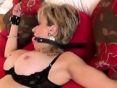 Unfaithful english milf lady sonia displays her massive tits