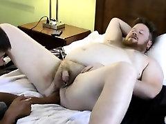 Hairy male doctors having gay male sex In inbetween fisting,