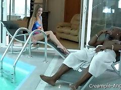 Creampie-Angels.com - Alexis Crystal - Hot Interracial Fuck for a Slutty
