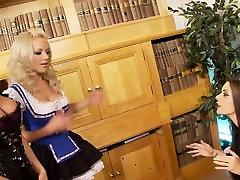 Sexy lesbian orgy with seductive harlots