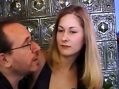 Doggystyled busty vintage amateur facialized