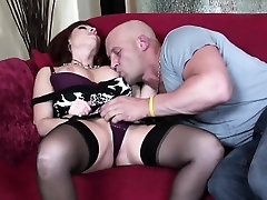 MILF porny sorority fucks and eats cum