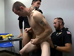 Gay police big cock image and girls start blooding stout police movies Two da