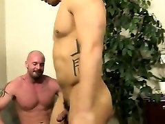 Tucking a black boy in gay school porn first time After face