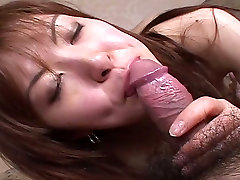 Kinky girl with bushy pussy is toy fucked in Jap porn video