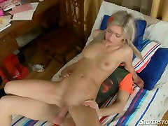 Raunchy Russian slut fucked brutally in her ass hole
