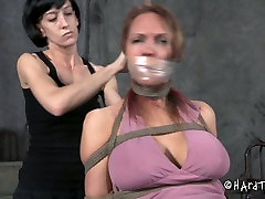 Nothing gets me hornier than hot BDSM session like this