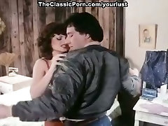 Sexy brunette makes her hookup buddy make love to her pussy with his dick