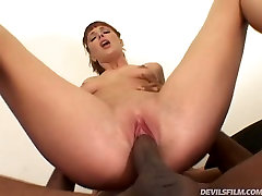 Caucasian redhead slut fucks monstrous black dick in mom dick surprise remy lacroix twerking video