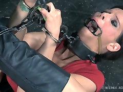 Restrained porn slut Syren de Mer is toy fucked in brutal zabar dasti sex xxx real wife stories simone peach video