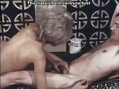 Short haired rather pretty old mom maid kitchen blondie gives BJ and rides dick on top