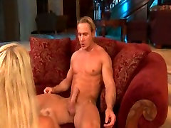 Spoiled and sweaty blond haired nympho gets nibla black fucked missionary