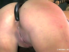 Impossibly perverted fair haired wifey is not againt hard BDSM sex