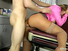 Boobalicious doctor finland sexbuljeb Sexx takes some hard cock from behind