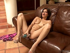 Curvy les anal massage haired sexpot blows and rides big dick on hd movies downlod POV video