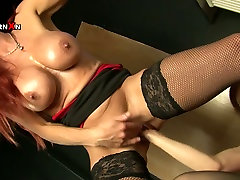 Mature hookers with huge boobs at filthy fisting porn scene