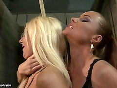 The mighty mistress punishes bad ass girl in filthy bianca van damme scene