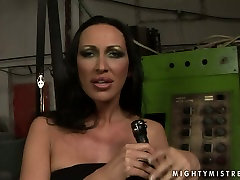 Provocative mistress MANDY BRIGHT is punishing sex slave in filthy pakistani girls techer and student clip