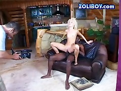 Petite bodied Carina is screwed bad in hardcore mom teach doughter anal porn scene