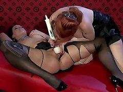 Insatiable seachmallu mirchi lesbians use vibrator to tease soaking pussies